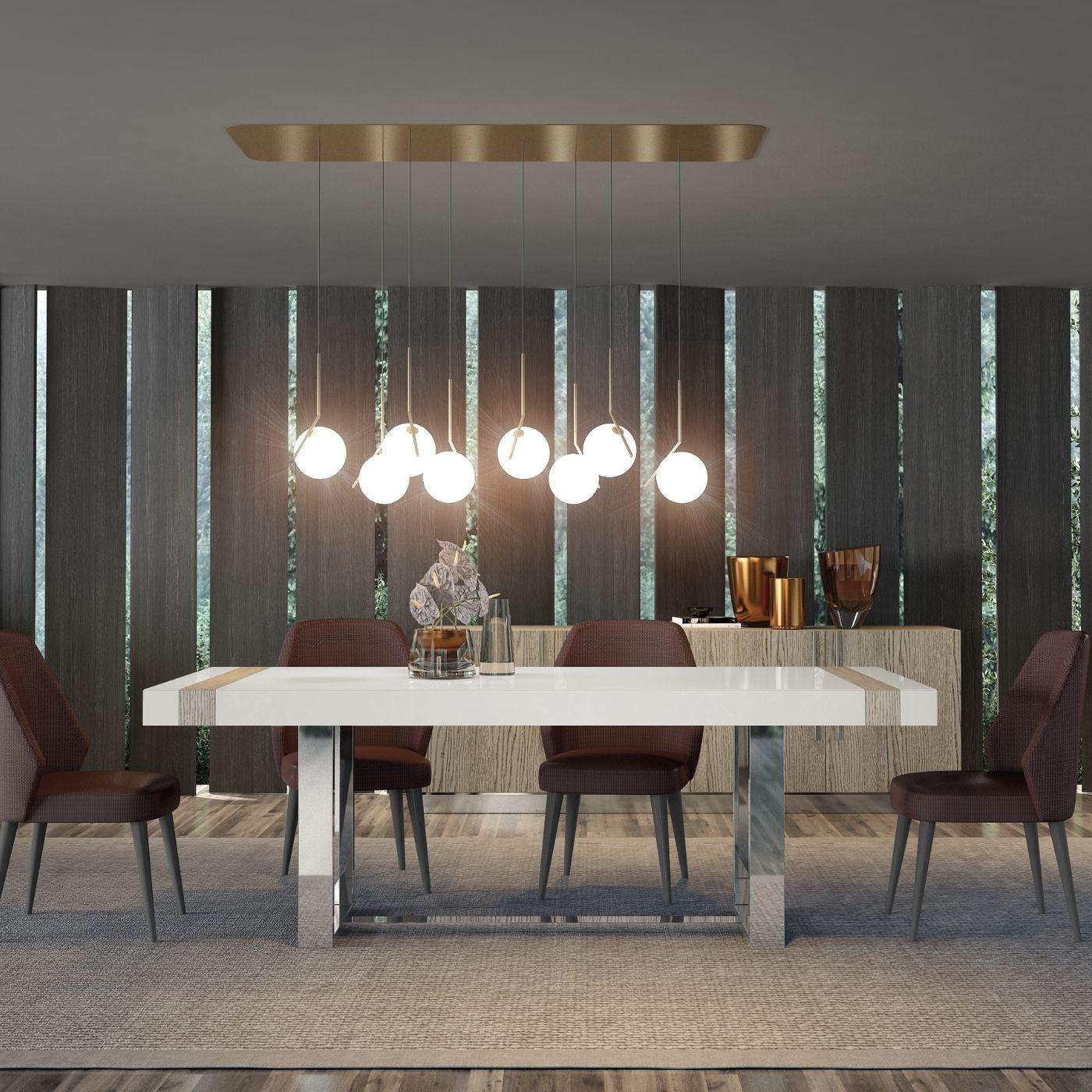 Mesa de jantar Laer