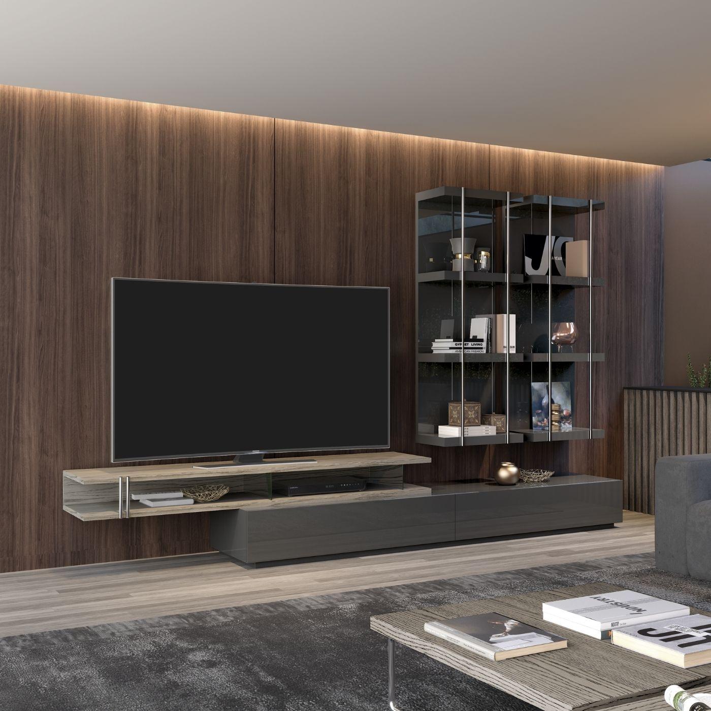 Base Tv 2 gavetas