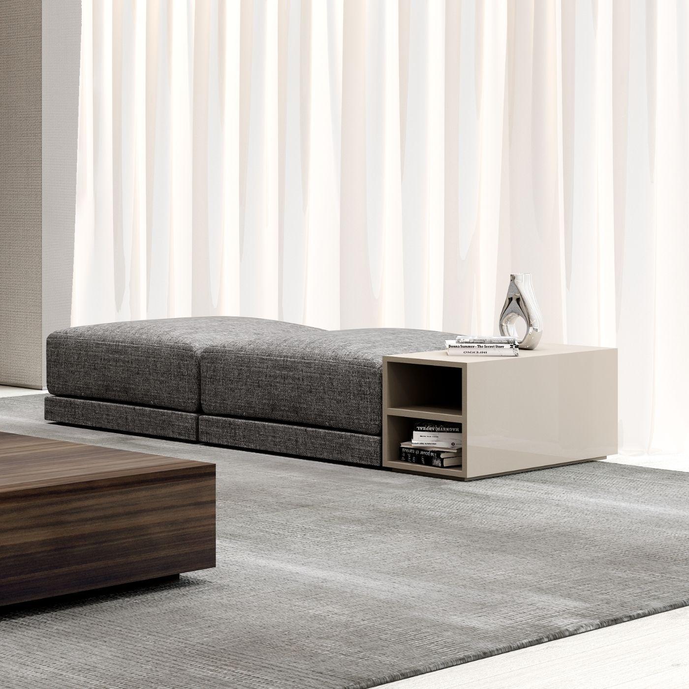 Bloco compacto de apoio a sofá