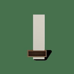 Alçado com caixa decorativa