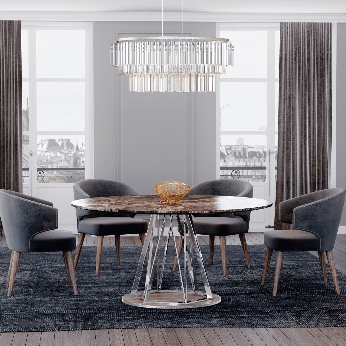 Mesa de jantar Empire