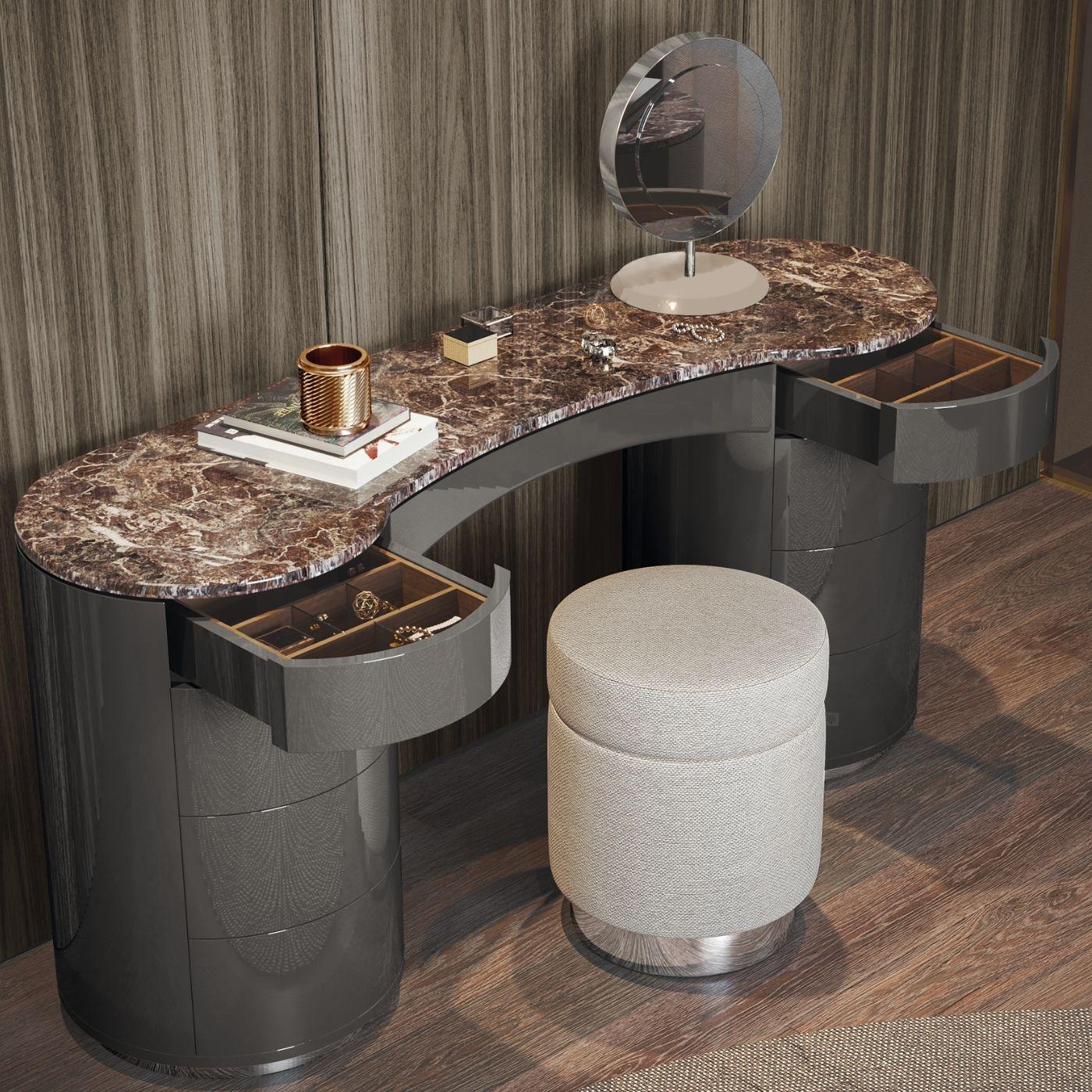 espelho de mesa ledy