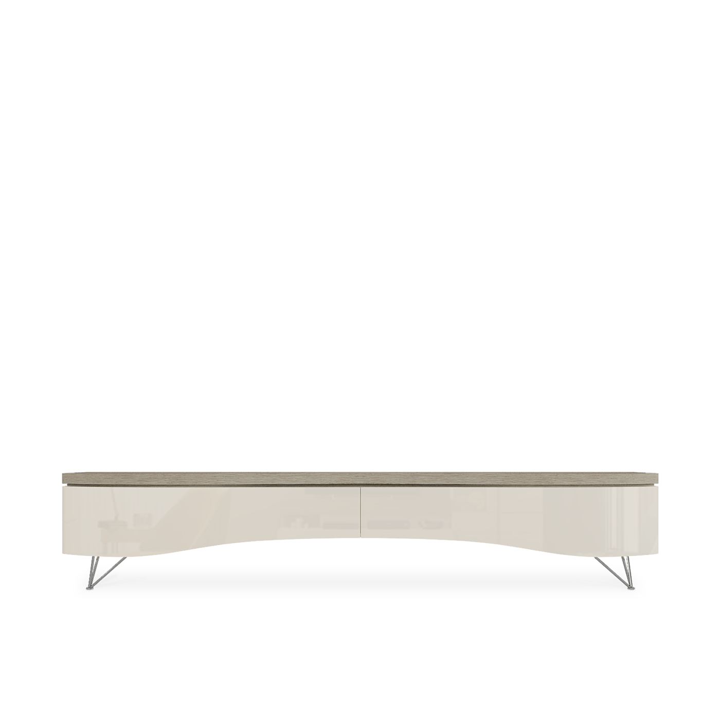 Base TV 2 tiroirs Lips