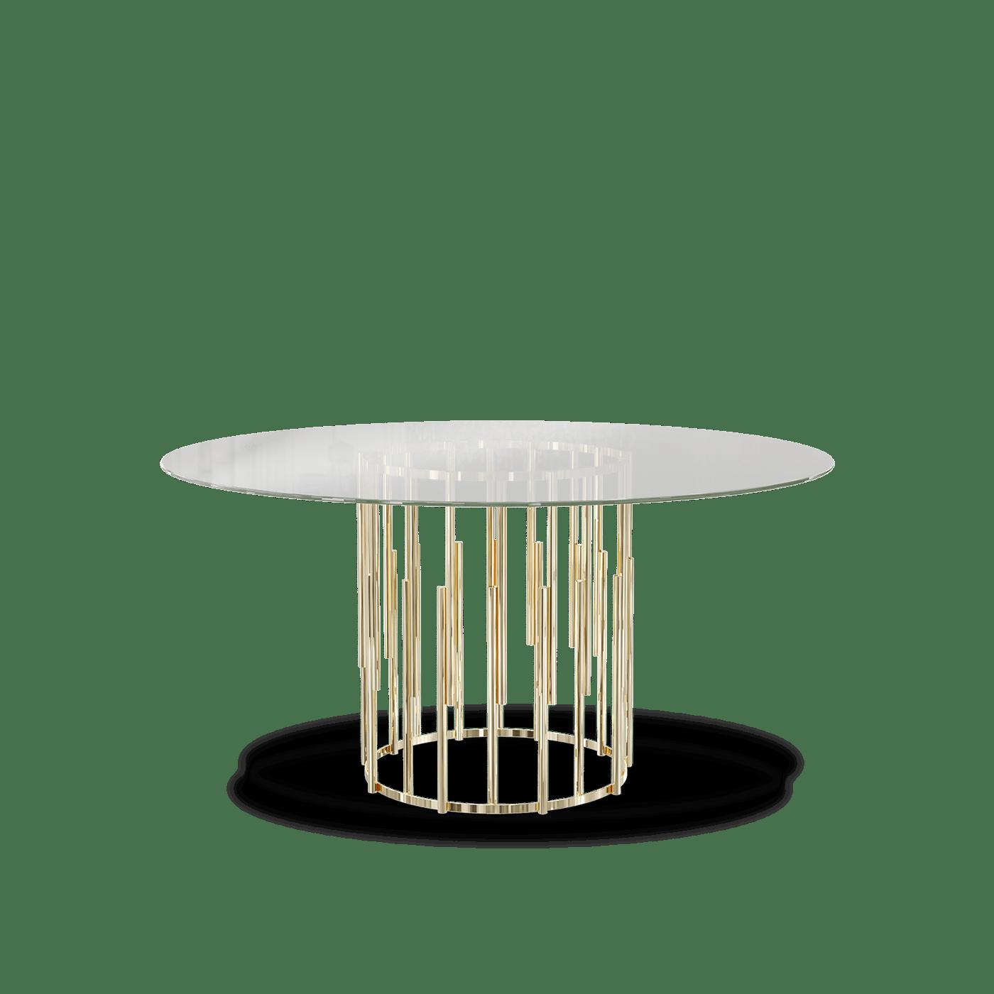 Ellender round dining table